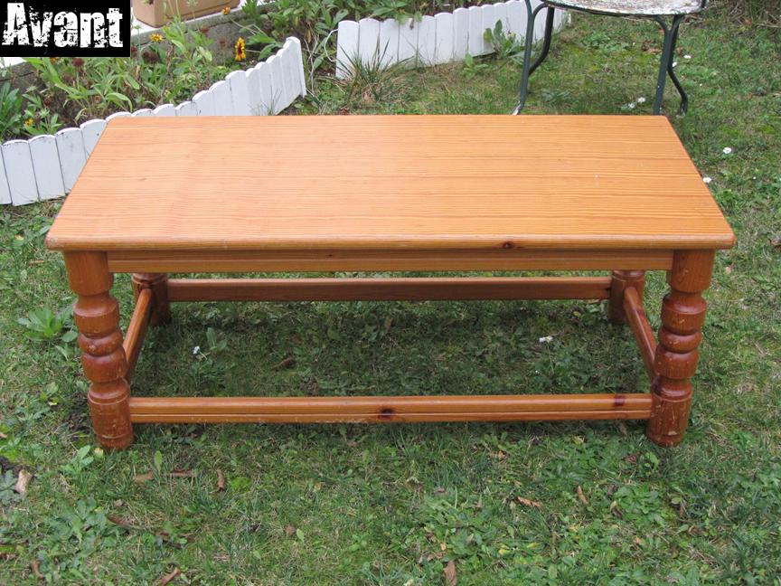 Table basse 72 50 avant