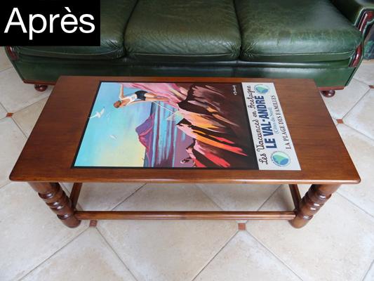 Table basse 7250 apres
